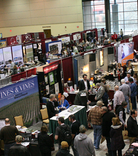 The floor of the 2012 Eastern Winery Exposition