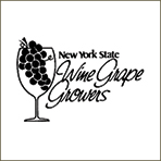 Logo for New York State Wine Grape Growers