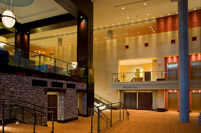 Interior Photo of the Lancaster Convention Center